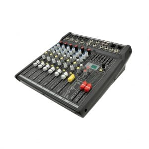 Citronic CSL-8 8-CHANNEL COMPACT MIXER WITH DSP