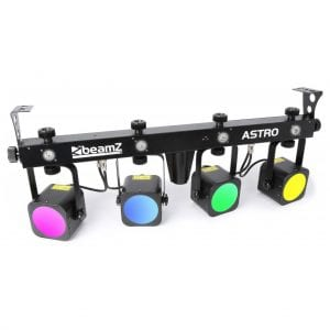 Beamz LED ASTRO PARBAR 4-WAY KIT 20W COB DMX NO STAND