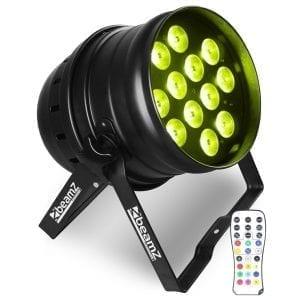 Beamz BPP220 LED PAR 64 12x 12W QUAD RGBW IR DMX