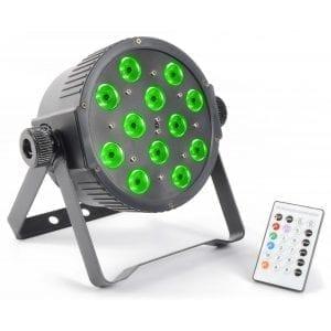 Beamz LED PAR 56 FLATPAR 12x 3W RGB LEDs DMX IR