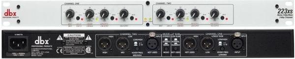 DBX 223XS Stereo 2-Way/Mono 3-Way Crossover