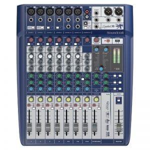 SoundCraft SIGNATURE 10 Compact Analogue Mixer