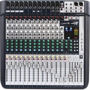SoundCraft SIGNATURE 16 Compact Analogue Mixer