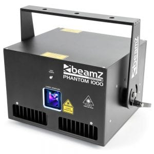 Beamz PHANTOM 1000 PURE DIODE LASER RGB ANALOGUE 30kpps