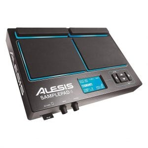 Alesis Sample Pad4 4-Pad Percussion and Sample-Triggering Instrument