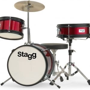 Stagg 3-piece Junior Drum set with Hardware