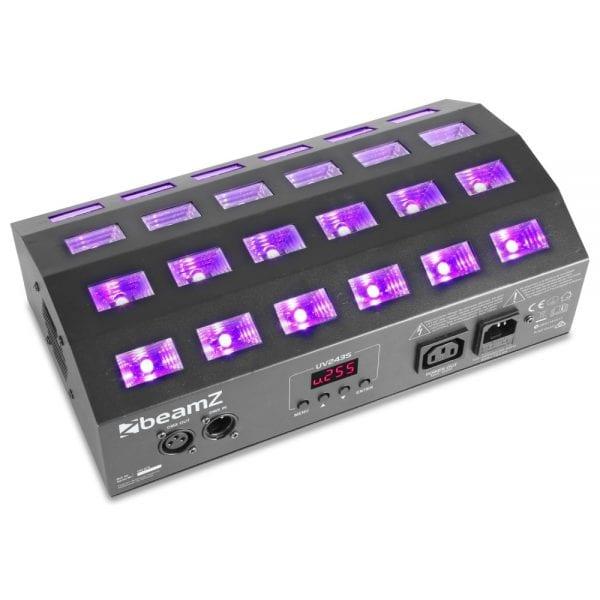 Beamz BUV463 LED UV STROBE 4X6 UV 3W