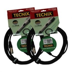 Tecnix TMC XLR-XLR 5m (2-Pack)