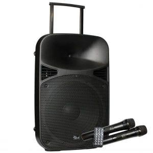 Filo FCA15PA PORTABLE PA UHF/MP3/USB/SD/FM/BT 15inch