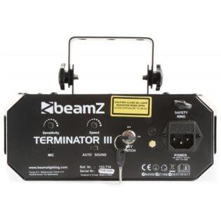 Beamz LED TERMINATOR III 2XMOON, LASER R/G, 4XSTROBO, IRC