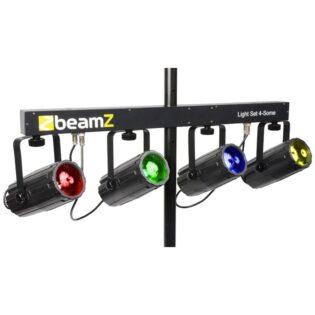 Beamz 4-SOME LIGHT SET 4X 57 RGBW LEDS DMX