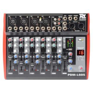 PDM L605 MUSIC MIXER 6-CH MP3/ECHO