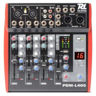 PDM L405 MUSIC MIXER 4-CH MP3/ECHO