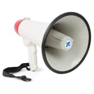 MEG045 MEGAPHONE 40W WITH USB/SD RECORD AND SIREN