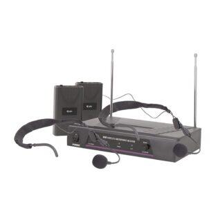 QTX VN2 DUAL NECKBAND MIC VHF WRLS SYSTEM 174.1+175.0