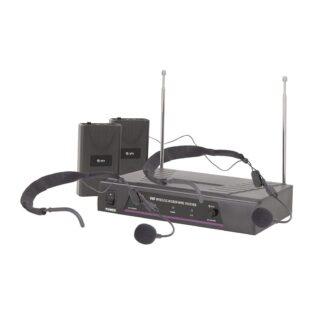 QTX VN2 DUAL NECKBAND VHF MICROPHONE 173.8+174.8MHz