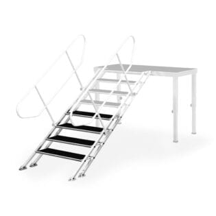 ALUSTAGE SPS-03/4CZ ADJUSTABLE STAIRS 600MM - 1000MM