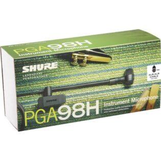 Shure PGA98H-XLR Cardioid Condenser Instrument Microphone