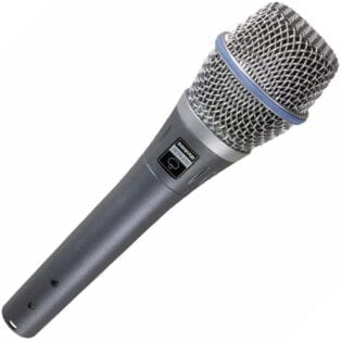 Shure BETA87A Vocal Microphone