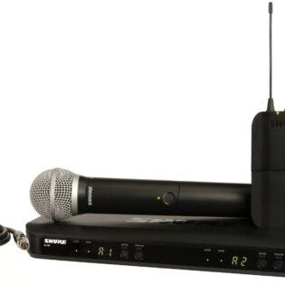Shure BLX1288E/SM58 Handheld Vocal Microphone System