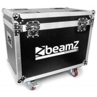 Beamz IGNITE180B LED MOVING HEAD BEAM 2PC IN FLIGHTCASE 180W
