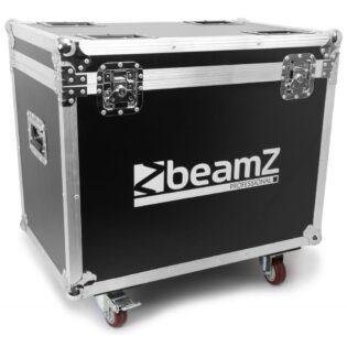 Beamz MATRIX55 QUAD MOVING HEAD 2PC IN FLIGHTCASE