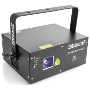 Beamz PANDORA 1600 TTL ANIMATION LASER RGB 25kpps