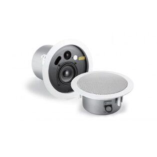Quad Industrial Concourse C8 In-Ceiling Speakers (Pair)