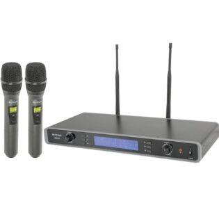 Citronic RU210-H Dual Multi-UHF Handheld System