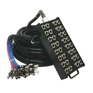 Tecnix 24x8 30m Snake Cable